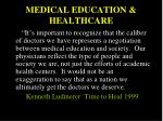 medical education healthcare1