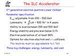the ilc accelerator
