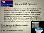 current fda guidance