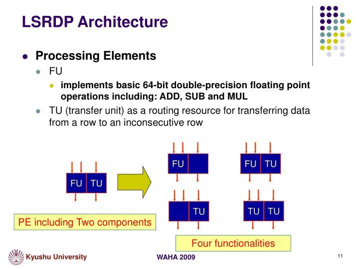 LSRDP Architecture