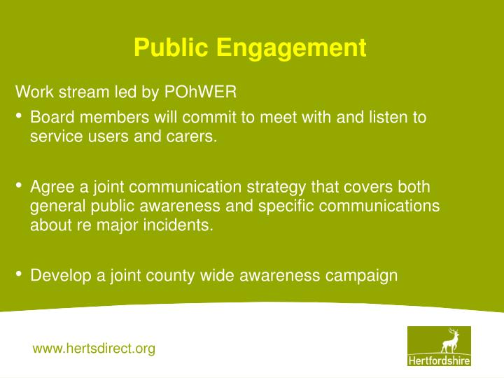 Public Engagement