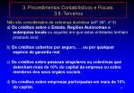 3 procedimentos contabil sticos e fiscais 3 6 terceiros4