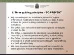 6 three guiding principles to prevent