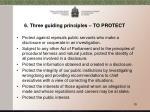 6 three guiding principles to protect