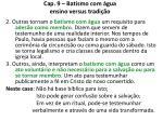 cap 9 batismo com gua ensino versus tradi o16