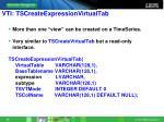 vti tscreateexpressionvirtualtab
