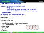 xml generation example