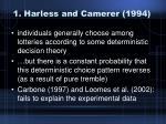 1 harless and camerer 1994