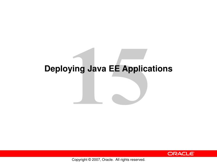 deploying java ee applications n.