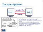 the rsync algorithm