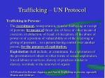 trafficking un protocol