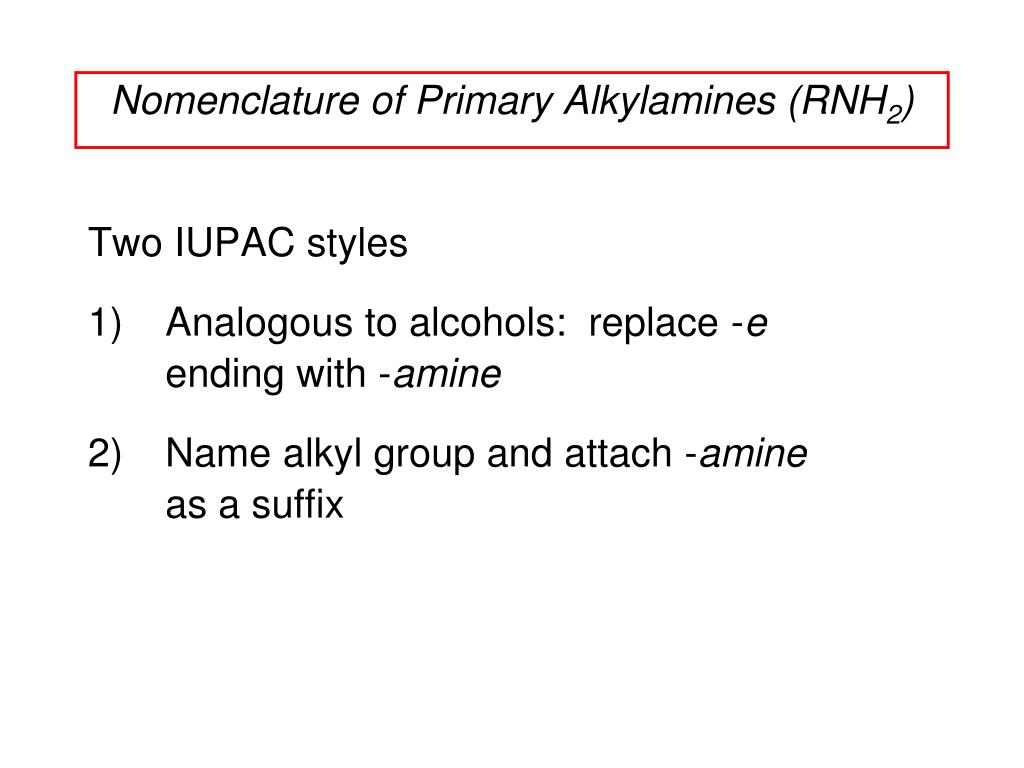 PPT - Chapter 21 Amines PowerPoint Presentation - ID:4538802