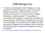 1980 refugee act