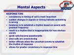 mental aspects