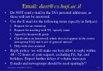 email dast@cs huji ac il