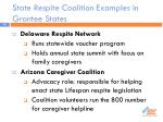 state respite coalition examples in grantee states1
