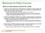 rationale for safety concern2