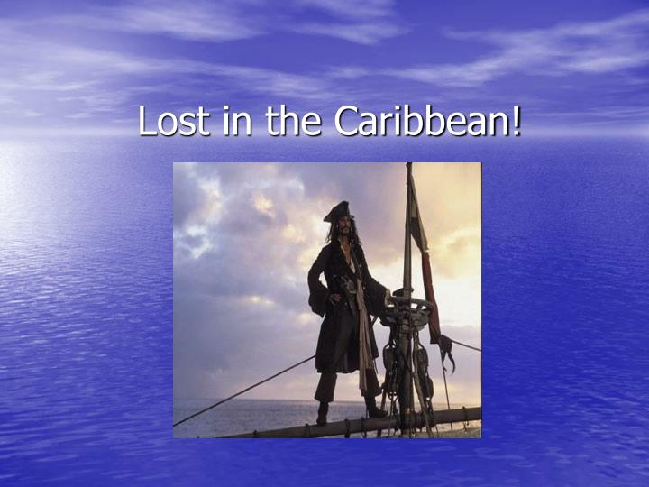 lost in the caribbean n.