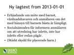 ny lagtext from 2013 01 01