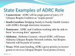 state examples of adrc role