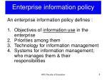 enterprise information policy2
