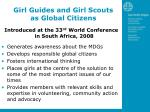 girl guides and girl scouts as global citizens