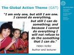 the global action theme gat1
