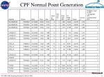 cpf normal point generation7
