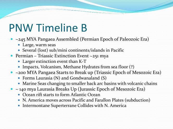 PNW Timeline B