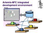 artemis m 3 c integrated development environment