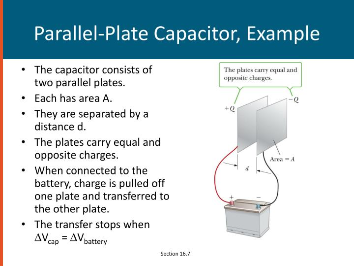 Parallel-Plate Capacitor, Example