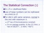 the statistical connection 1