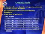 armonizaci n