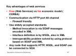 key advantages of web services