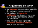 arquitetura do soap