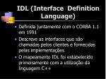 idl interface definition language