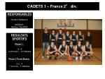 cadets 1 france 2 div