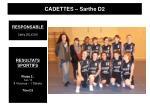cadettes sarthe d2