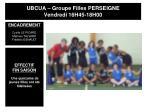 ubcua groupe filles perseigne vendredi 16h45 18h00