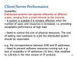 client server performance1