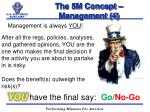 the 5m concept management 4