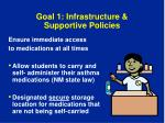 goal 1 infrastructure supportive policies2