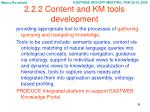 2 2 2 content and km tools development