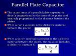 parallel plate capacitor2