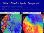 what if gmap is applied everywhere