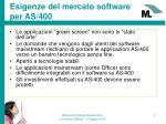 esigenze del mercato software per as 400