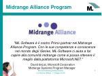 midrange alliance program