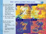 rec apda and rec pda results1