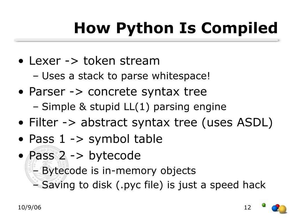 PPT - Python: Design and Implementation Guido van Rossum