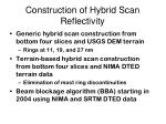 construction of hybrid scan reflectivity